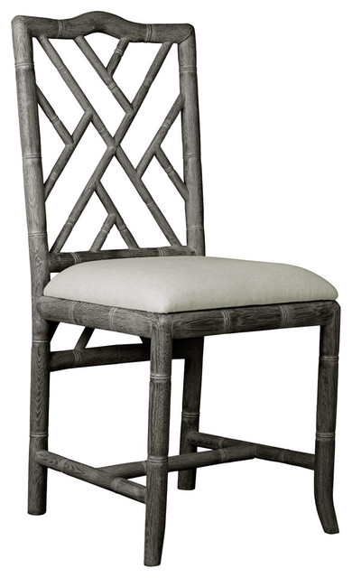 Surprising Bungalow 5 Hampton Chair In Gray Gmtry Best Dining Table And Chair Ideas Images Gmtryco