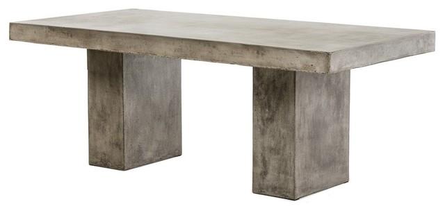 Modrest Saber Modern Concrete Dining Table