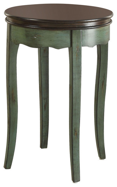 Molly Vintage Side Table, Green.