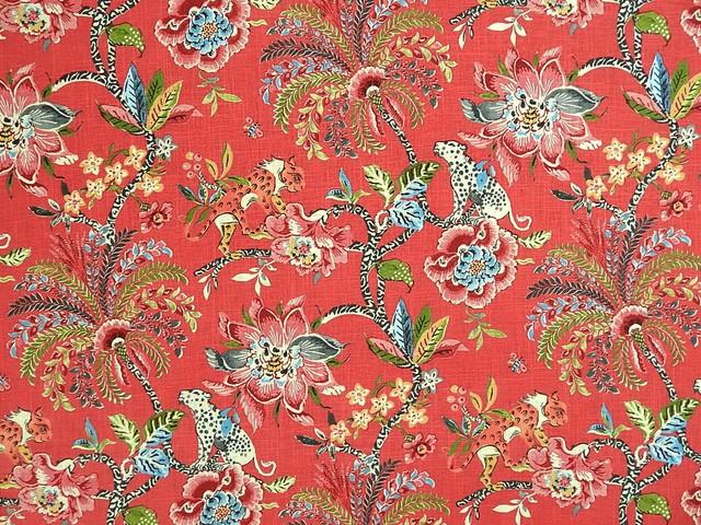 Braganza Spice Fabric Asian Drapery Fabric By 1502 Fabrics