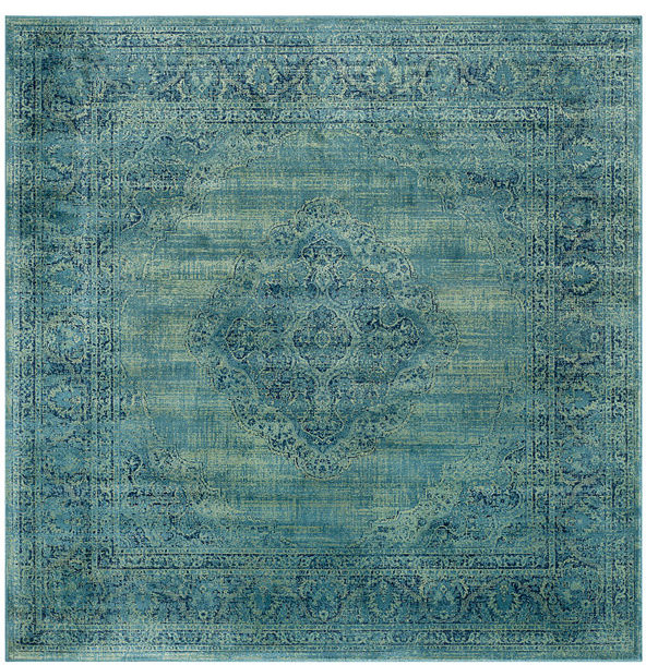 Safavieh Vintage Turquoise And Multi Colored Area Rug: Safavieh Vintage Vtg112-2220 Rug, Turquoise/Multi