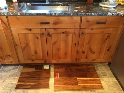 Log Cabin Remodel - Putting In Wood Floor - Narrowed It Down To