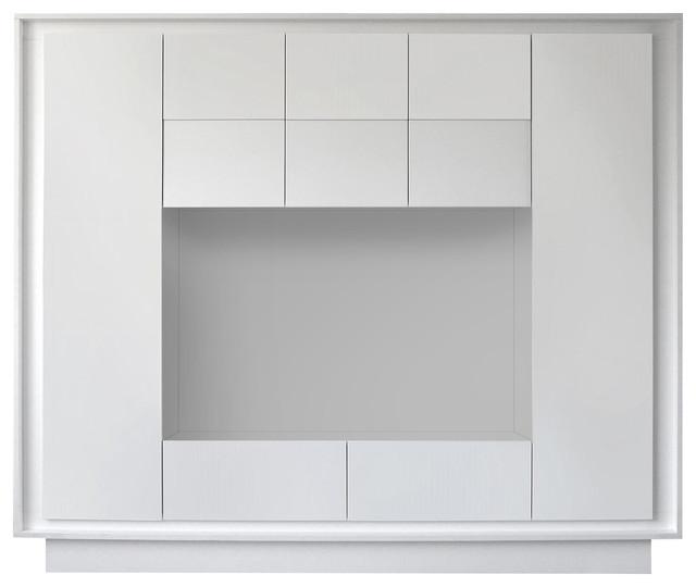 Frame 8-Piece Living Room Furniture Set, White