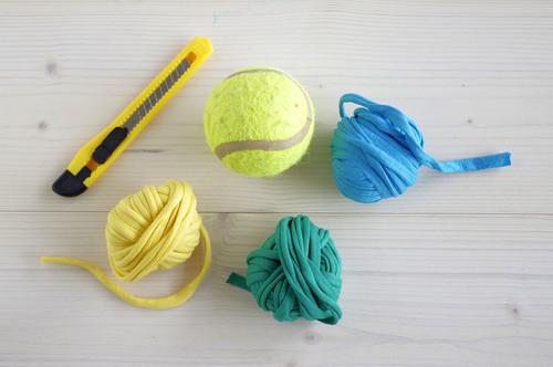Diy comment fabriquer un jouet pour chien avec une - Fabriquer un panier pour chien ...