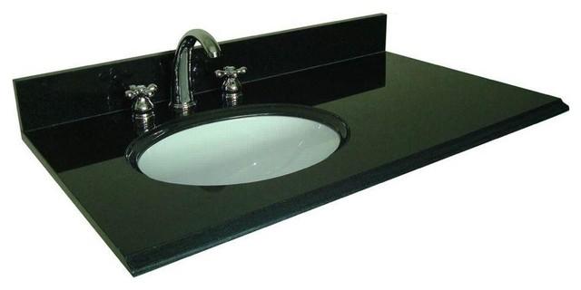 pegasus granite bathroom vanity tops bath bimini 36 base top offset left bowl