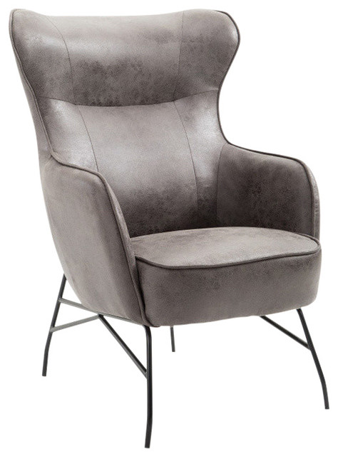 Emerald Home Franky Accent Chair, Badlands Charcoal by Emerald Home