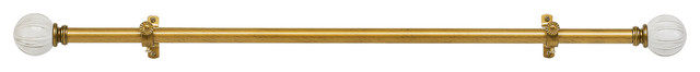 "Buono Ii Decorative Rod & Finial Emma 28-48""."