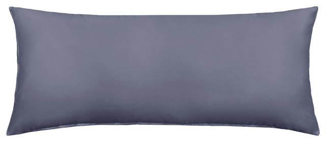 40x40 Solid Dark Gray Body Pillow Cover Modern Pillowcases And Classy Body Pillow Cover 20 X 54