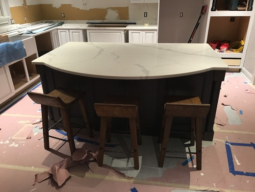 Not Enough Kitchen Island Overhang!