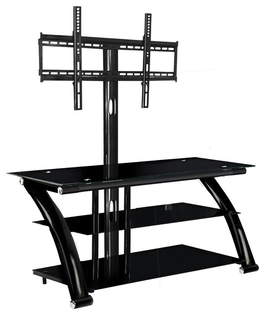 innovex nexus ez 52 tv stand with mount black