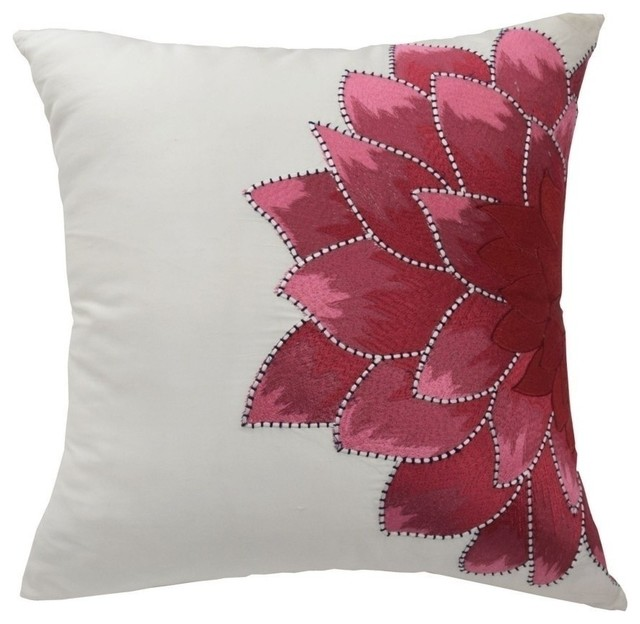 Dahlia Pillow Contemporary Decorative Pillows By Ellery Homestyles
