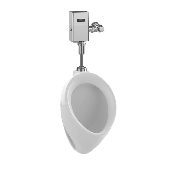 Toto Porcelain .5 GPF Urinal, UT104E#01 - Contemporary - Urinals ...