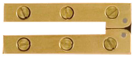 table hinge. h-53 card table hinge, bright, set of 2 traditional-hinges hinge