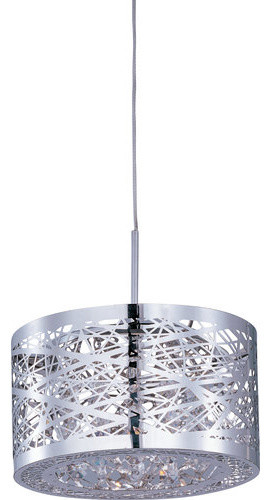 Et2 Ep96070-10 1 Light Adjustable Height Pendant From The Minx Collection - Bulb.
