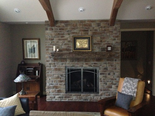 What do we put on our fireplace mantel?