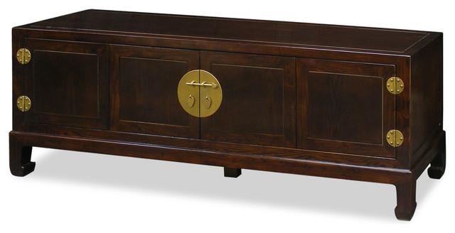 Elmwood Kang Media Cabinet - Asian - Storage Cabinets - by China Furniture and Arts