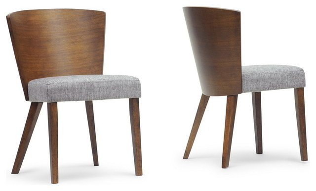 Sparrow Wood Dining Chairs Set Of Contemporary Dining - Contemporary wooden dining chairs