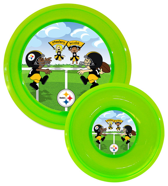 Plate Amp Bowl Set Pittsburgh Steelers Dining Bowls By