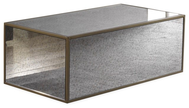 Mirrored Coffee Table 5