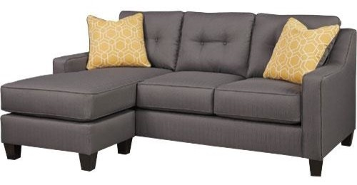 Amazing Ashley Furniture Aldie Nuvella Sofa Chaise Gray Gmtry Best Dining Table And Chair Ideas Images Gmtryco