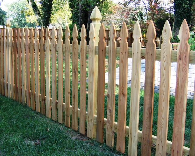 Colonial Gothic Picket Fence 2 Baltimore By Mid