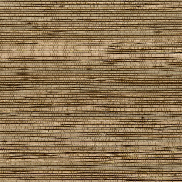 Norwall designer grasscloth fine seagrass tan brown for Vinyl grasscloth wallpaper bathroom