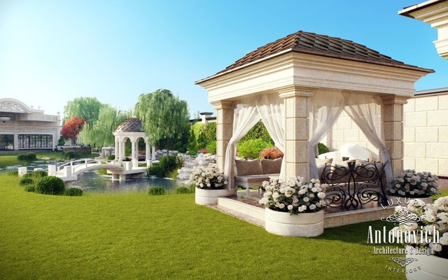 Garden Landscaping Dubai From Luxury Antonovich Design