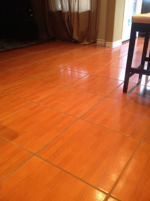 Tile Floor Cleaning - Best way to clean shiny tile floors