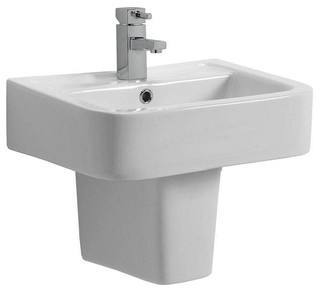 bathroom sinks montreal montreal basin amp semi pedestal small contemporary 11491