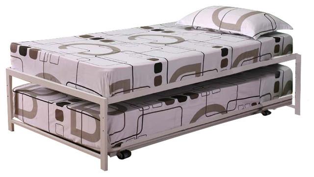 Bedroom furniture high riser bed frame 39 twin size white Bedroom furniture high riser bed frame
