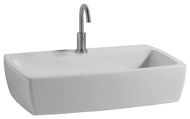 X-Tre Wall Mounted / Vessel Bathroom Sink, 15.7 L X 15.7 W.