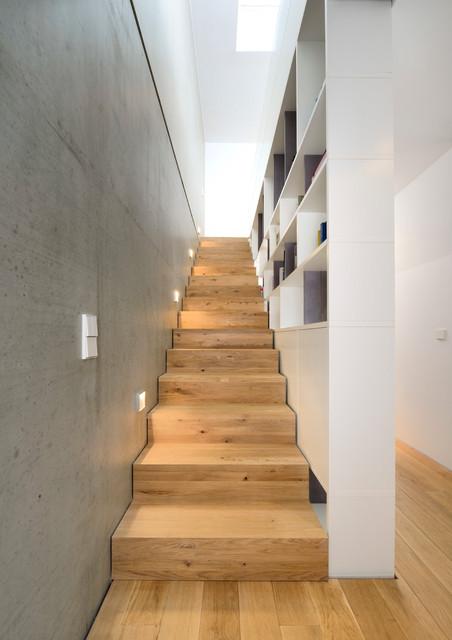 Treppen München doppelhaus b in münchen modern treppen münchen