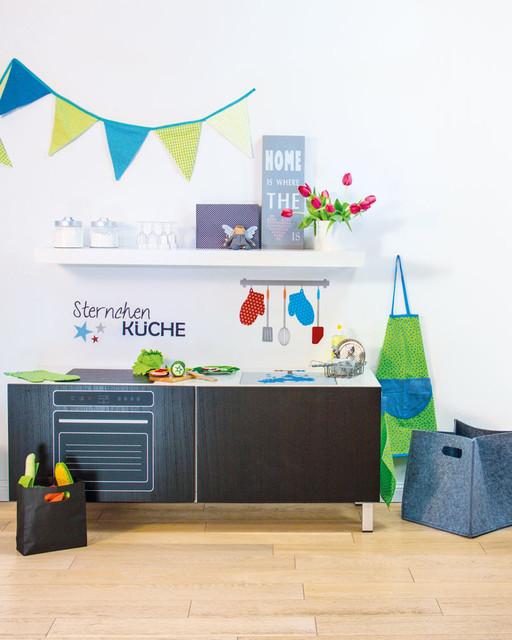 Kinderküche Diy diy designer kinderküche mit limmaland sticker selber bauen diy
