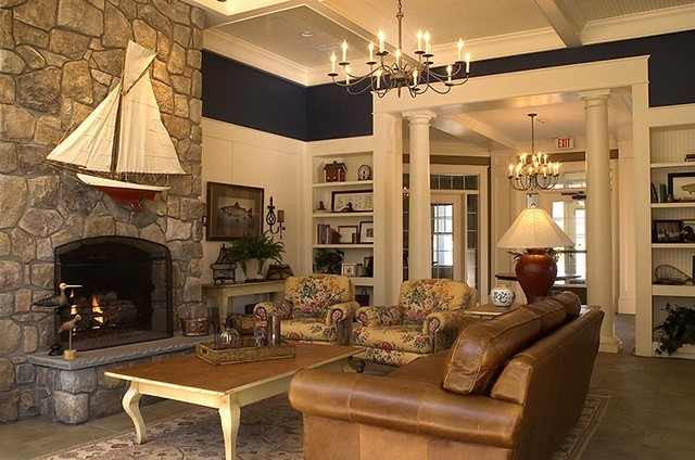 Great room - Traditional - Family Room - by Kirsten Floyd ... - photo#19