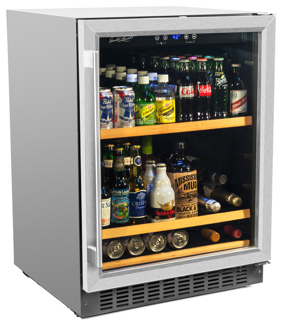 Smith & Hanks Bev145sre 178 Can Single Zone Under Counter Beverage Refrigerator.