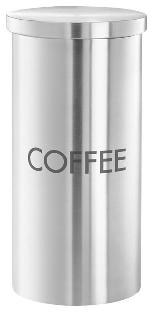 Modern Kitchen Jars cera coffee canister - modern - kitchen canisters and jars -