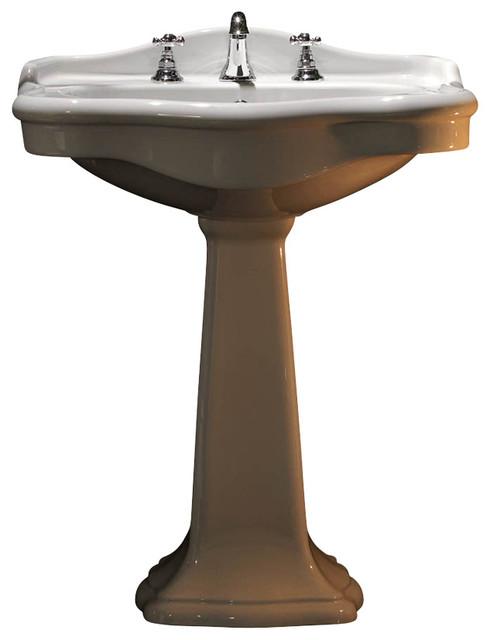 Free Standing Pedestal Bathroom Sink