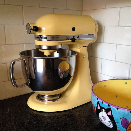 Please humor me again  KitchenAid mixer colors -> Kitchenaid Yellow