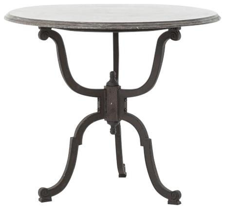 Hughes Iron Bistro Table.