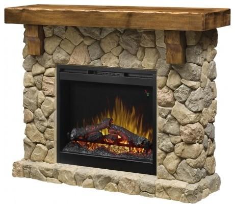 Fieldstone Electric Fireplace.