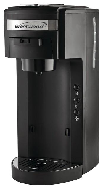 Brentwood Single-Serve Black Coffee Maker.