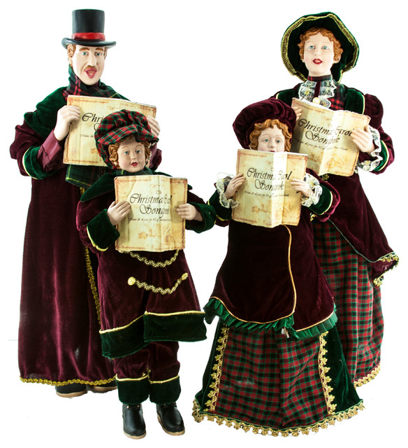 Christmas Carolers Decorations Sale | Home Decorating Ideas