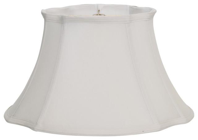 Shantung French Oval Lampshade Traditional Lamp Shades By Deran Shade Co