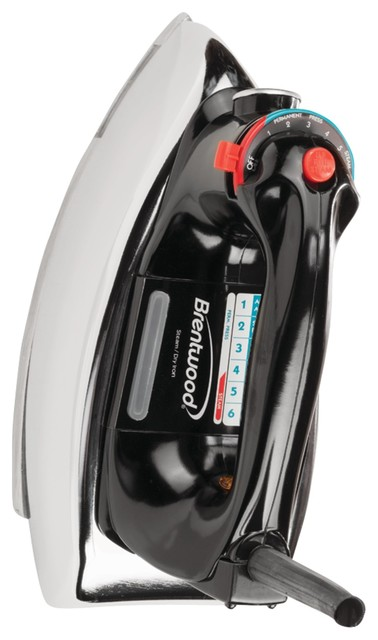 Brentwood Classic Nonstick Steam-Dry Iron.