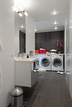 inspiration contemporary laundry room