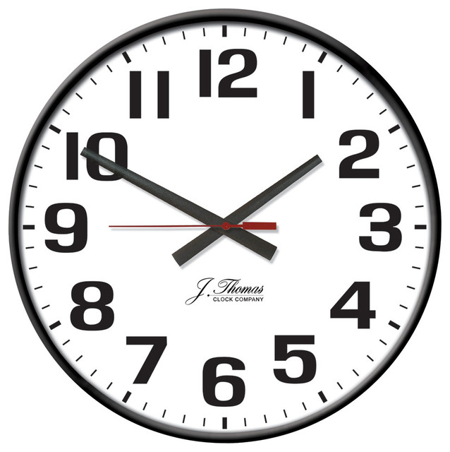 Volt Electric Wall Clock Modern Wall Clocks By Simply Wall Clocks