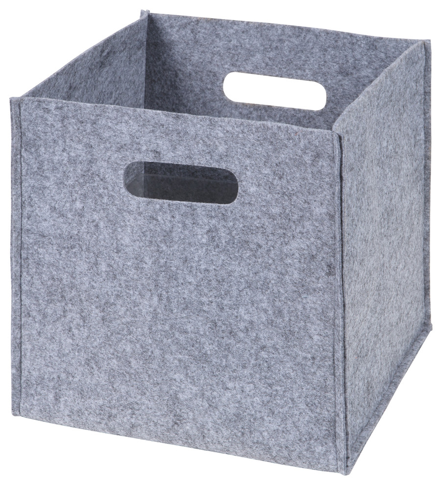 Trend Lab Felt Storage Organizer Cube Contemporary