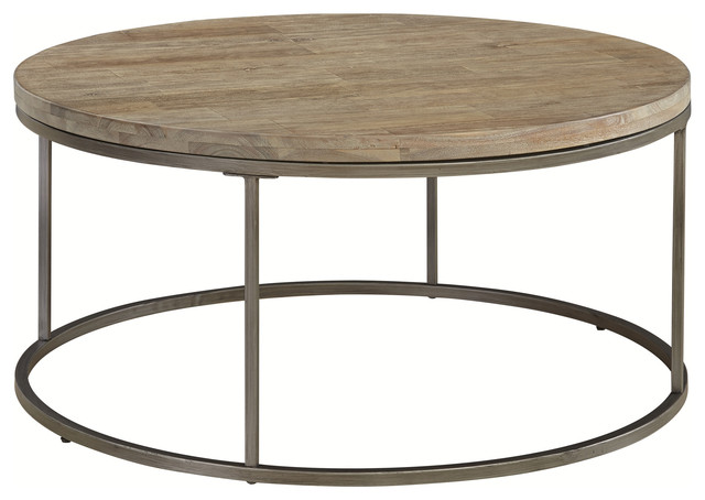 Palliser Furniture Julien Coffee Table With Acacia Wood Top Round Tables By