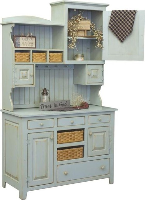 Annies 2 Piece Hutch 465 002 2tbmc China Cabinets And