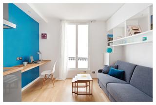 r novation studio 15m2. Black Bedroom Furniture Sets. Home Design Ideas